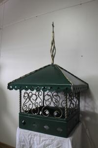 Дымник на трубу кованный со шпилем