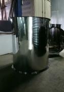 Труба диаметр 800 мм., нержавеющая сталь матовая 1 мм.