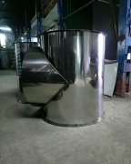 Тройник 90,  нержавеющая матовая сталь 1 мм, диаметр 800 мм