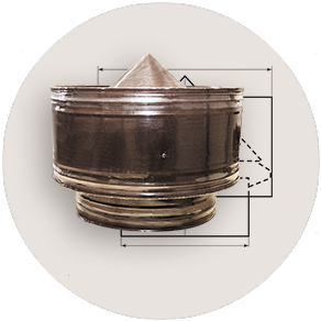 Дефлектор без внутренней трубы