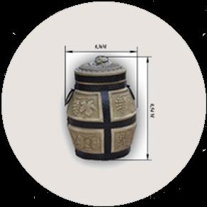 Керамическая печь «Тандыр» малый