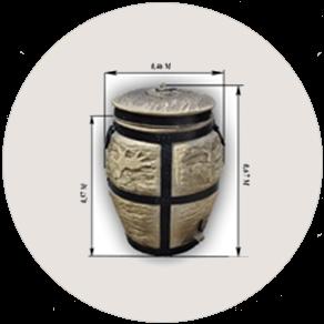 Керамическая печь «Тандыр»  средний