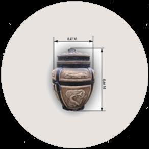 Керамическая печь «Тандыр» Осетр