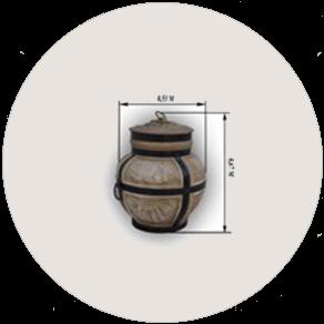 Керамическая печь «Тандыр» большой электрическая