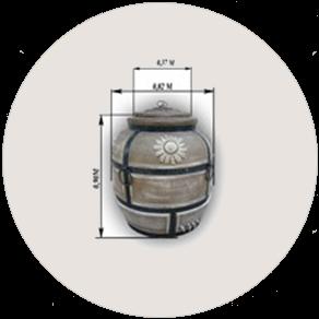 Керамическая печь «Тандыр» для лепешек электрическая